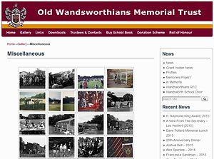 Old Wandsworthians Memorial Trust