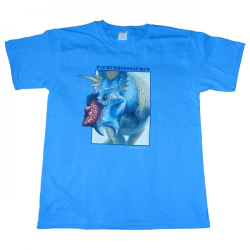 pachyrhinosaurus-t-shirt-blue-child