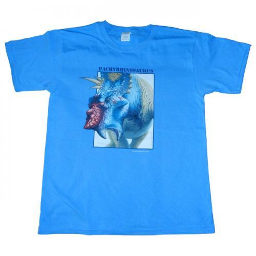 pachyrhinosaurus-t-shirt-blue-child