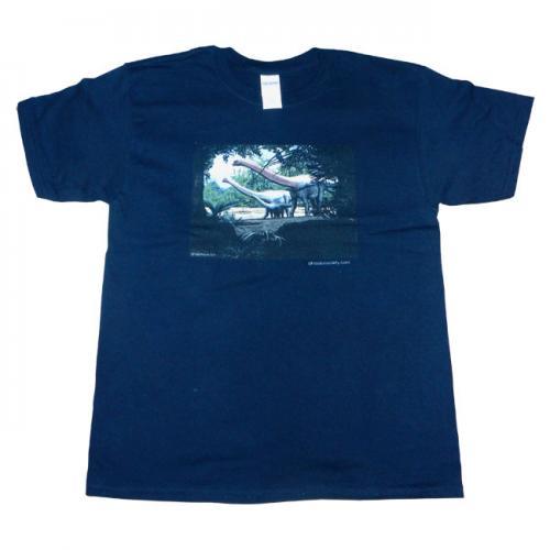 sauropod-t-shirt-black-child